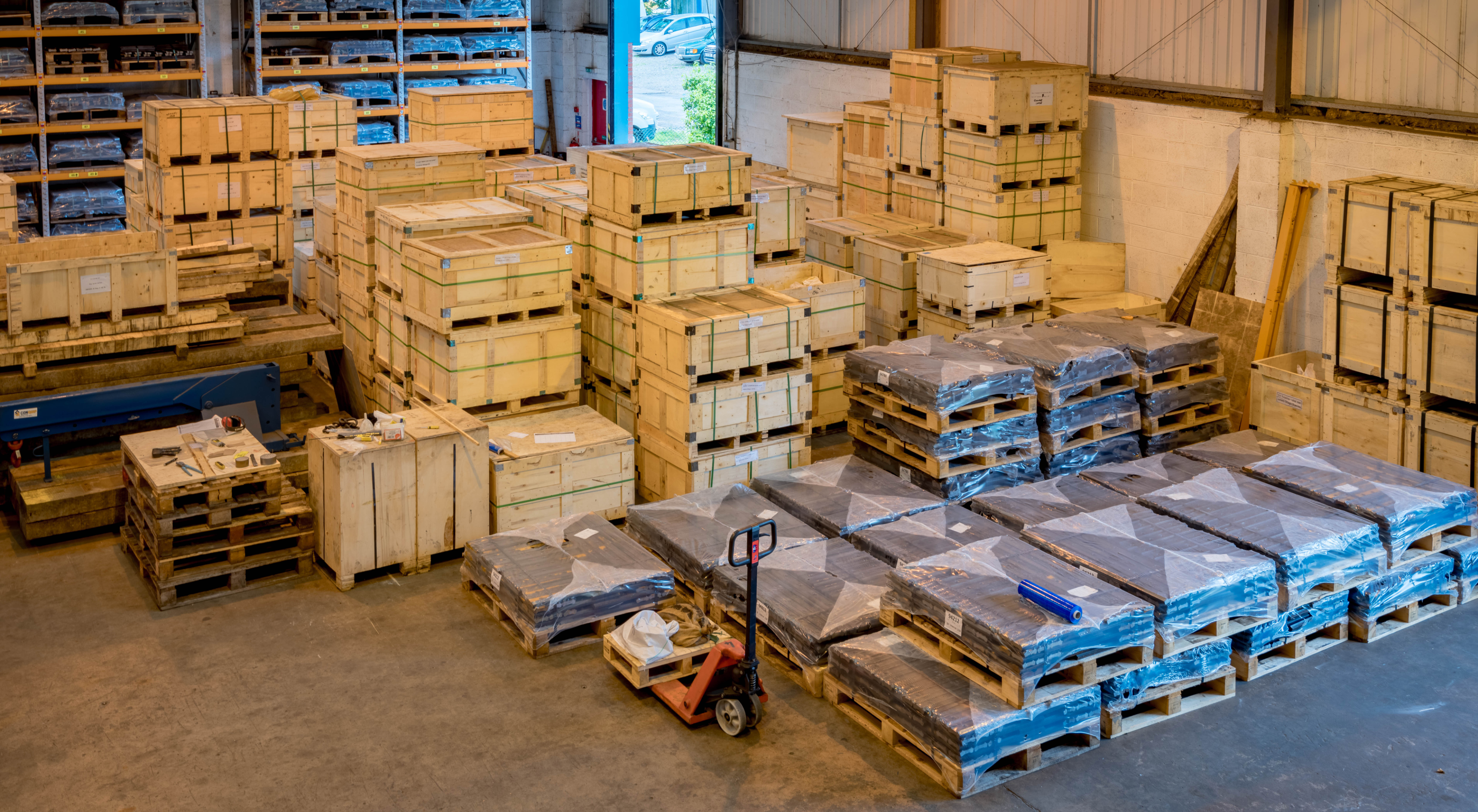 Gb rail warehouse overview